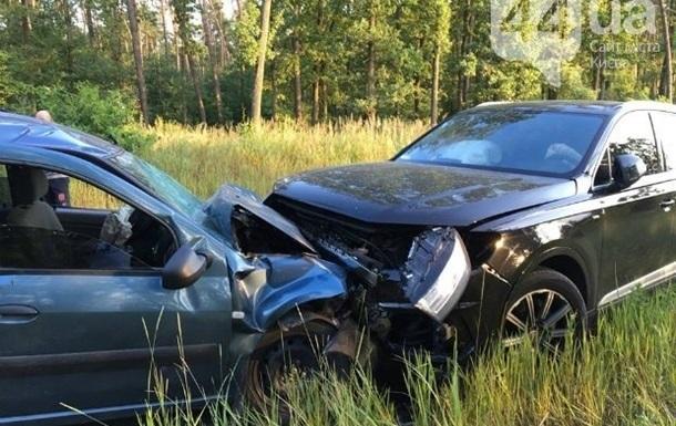 Пьяного директора Укрзализныци, устроившего аварию, оштрафовали