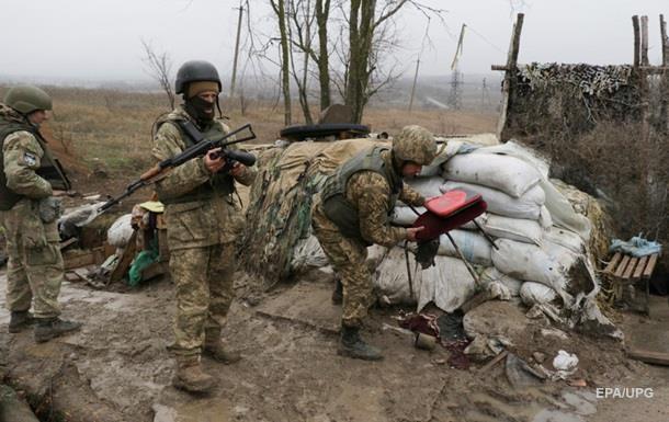 Сутки в АТО: Ранены четверо бойцов ВСУ