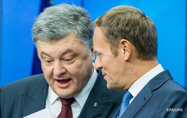 Туск: Олланд и Меркель согласны на безвиз Украине