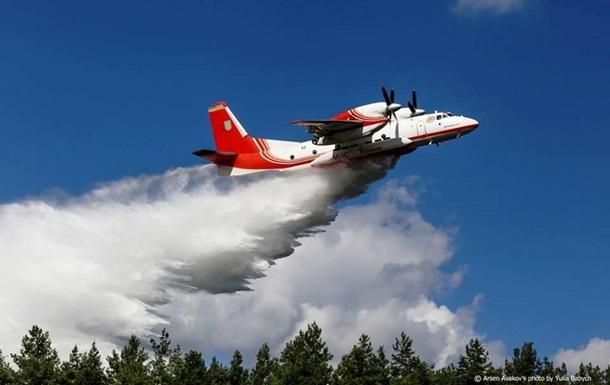 Порошенко отправил самолеты тушить пожар в Израиле
