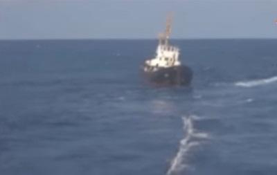 В Греции задержали украинское судно, спасенное военным кораблем РФ – СМИ
