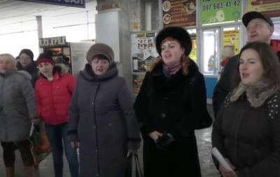 В Николаеве продолжили песенный флешмоб