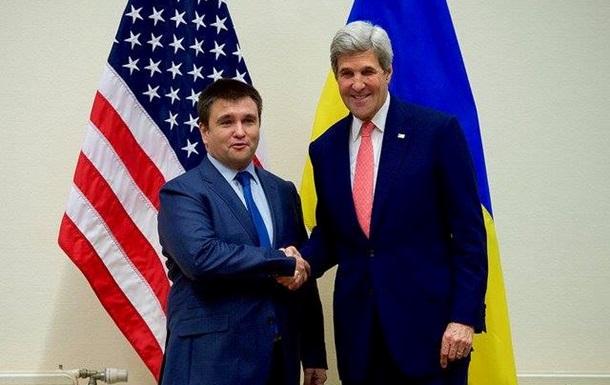Керри и Климкин высказались за ускорение реализации Минска-2