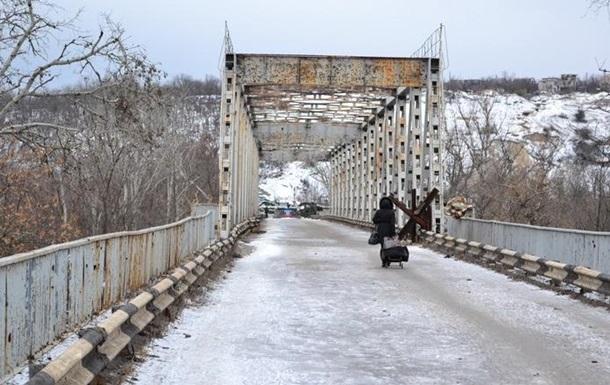 Мост в Станице Луганской снова обстреляли — ОБСЕ