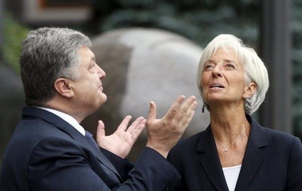 Порошенко и Лагард договорились о встрече