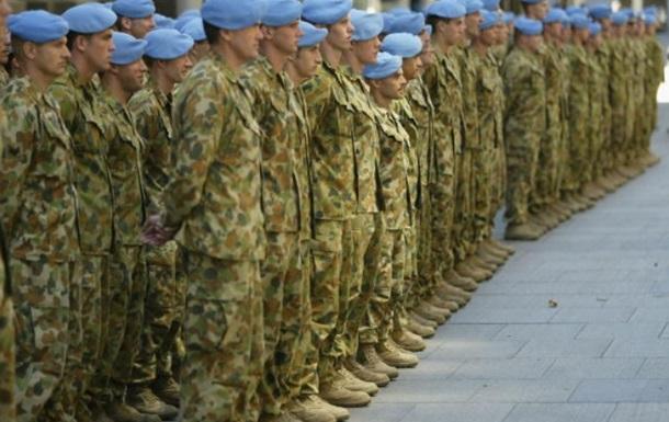В Украине будут готовить миротворцев для Донбасса