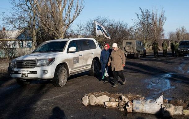 ОБСЕ заявила о боях за серую зону на Донбассе