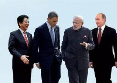 Американский политик предлагает создать глобальный альянс Индии, США, России и Японии
