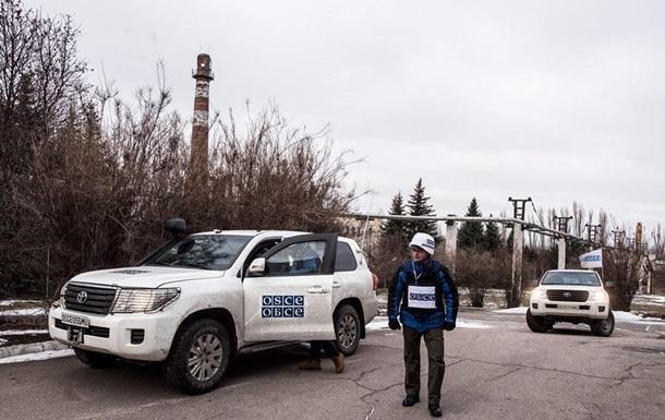 Миссии ОБСЕ ограничили доступ на Донбассе