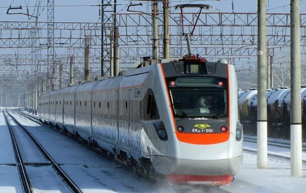 Поезд Интерсити сломался во время пути в Трускавец