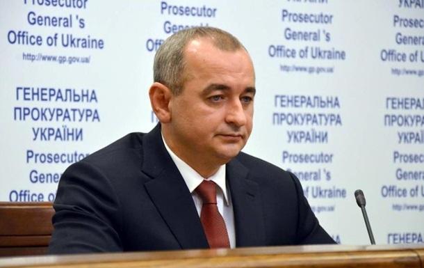 Матиос отчитался о работе военной прокуратуры