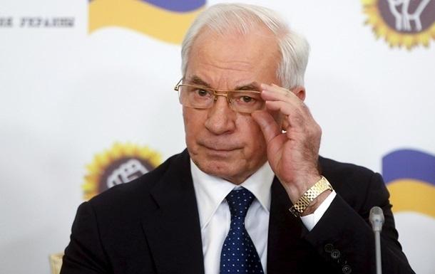 Азаров допустил создание правительства в изгнании