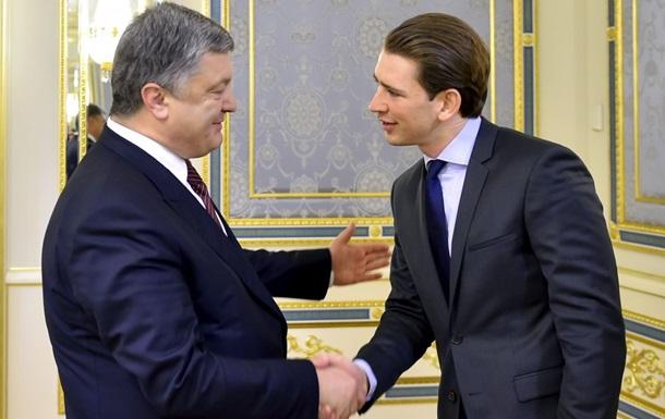 Президент Украины встретился с главой ОБСЕ