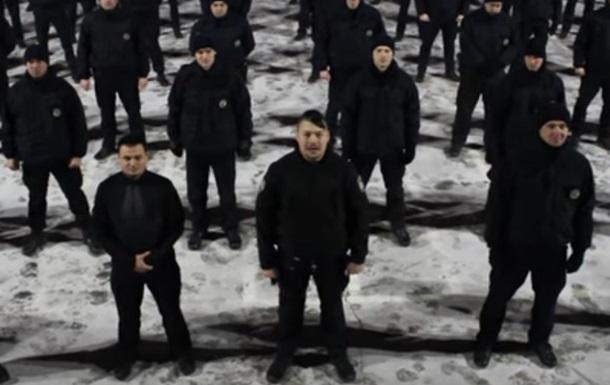 В полиции поддержали флешмоб ради воинов АТО
