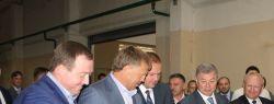 Официальный запуск второй очереди производства межкомнатных дверей «Alleanza doors» состоялся при участии губернатора