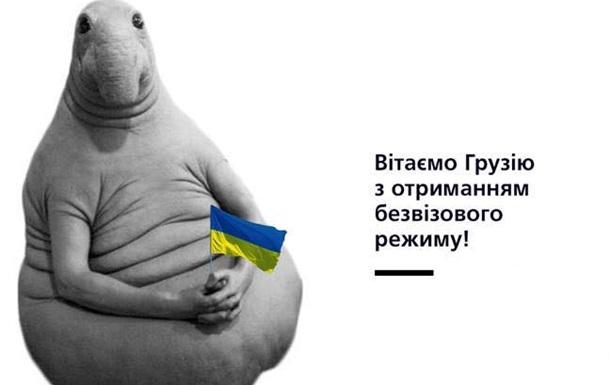 Выгнать Саакашвили. Соцсети о безвизе для Грузии