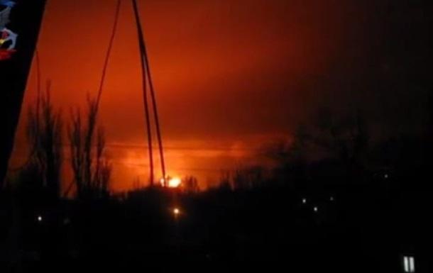 В Донецке прогремел мощнейший взрыв