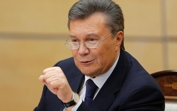 Янукович подаст на Украину в Евросуд