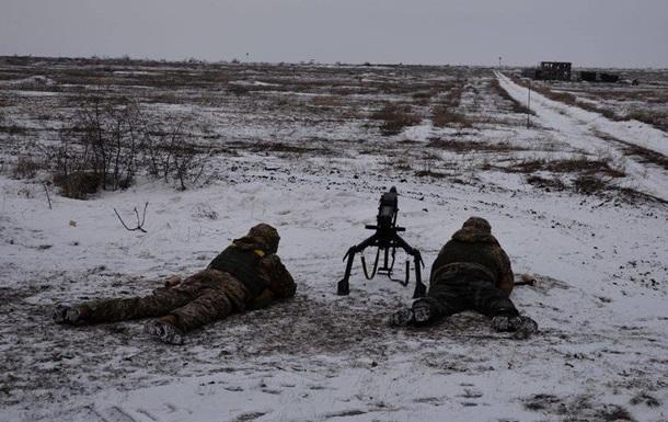 За сутки в зоне АТО ранили шестерых военных