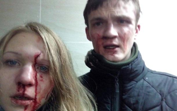Обвиняемую в убийстве копов избили побратимы — соцсети