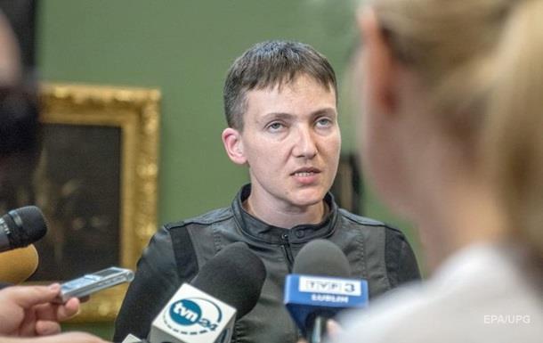Савченко находится в Донецке – СМИ