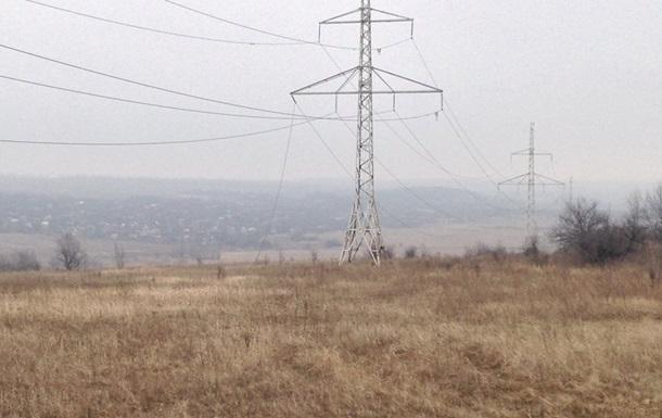 Ремонт электропередач в Авдеевке так и не начался