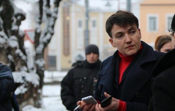 Сaвчeнкo дoпрoсят из-зa пoeздки в ДНР