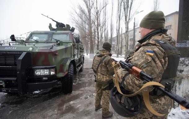 Штаб: В зоне АТО погиб один военный