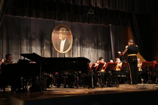 Концерт памяти Валерия Халилова состоялся в г. Клин Московской области при поддержке ООО «Газпром трансгаз Москва»