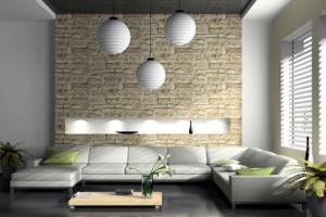 Каменные обои — интересное решение для ваших стен
