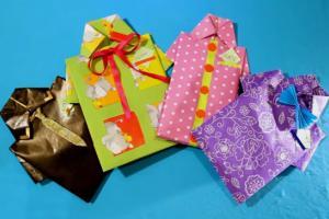 Идея оригинальной упаковки подарка для мужчины