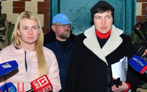 Савченко: Москва разрешила поехать в ДНР