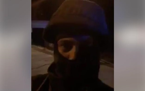 Парасюк показал видео конфликта с полицией