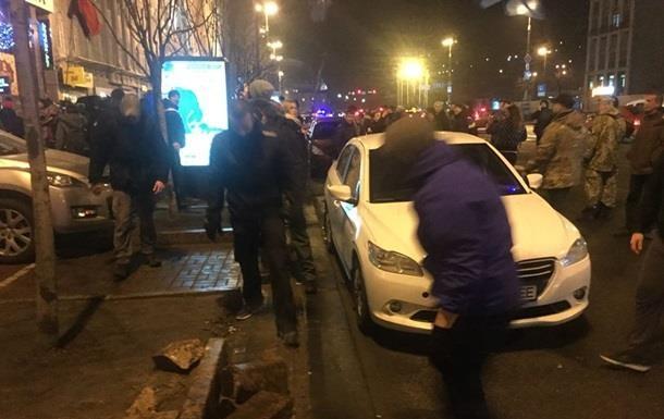 В центре Киева восстановили порядок