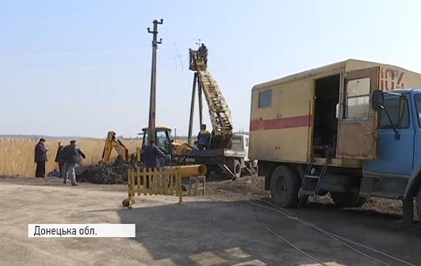 В районе Краматорска взорвался газопровод