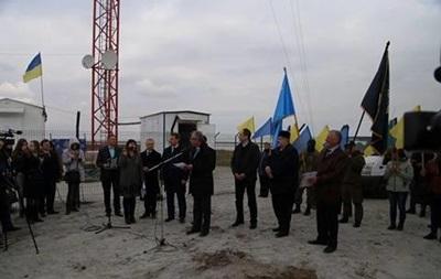 На Чонгаре открыли вышку для вещания на Крым