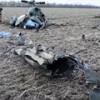Появилось видео с места падения Ми-2 у Краматорска