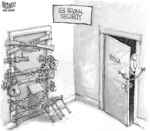 Коварный Путин бросает вызов жизненно важным интересам США в так называемой «серой зоне»