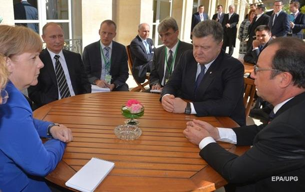 Нормандская встреча будет в ближайшее время — РФ