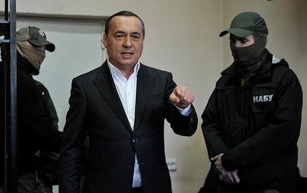 Суд отпустил Мартыненко на поруки