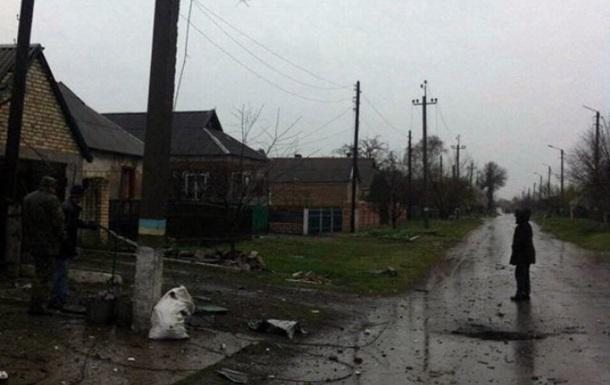 Штаб АТО: Марьинку обстреляли из минометов и БМП