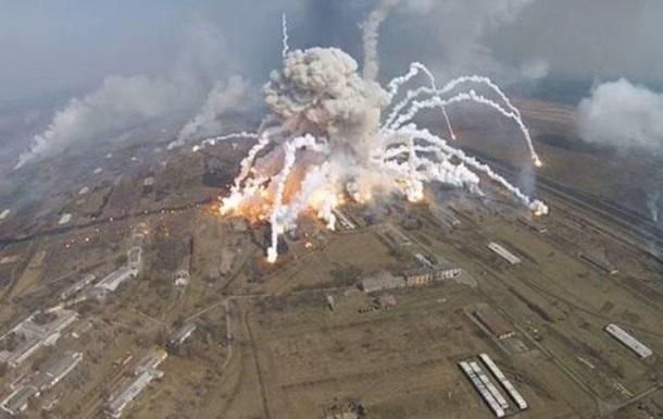 СМИ: Беспилотников над складами в Балаклее не было