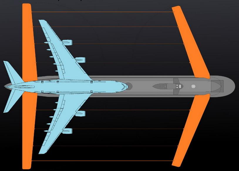 Новую российскую подлодку снабдят огромными «крыльями»