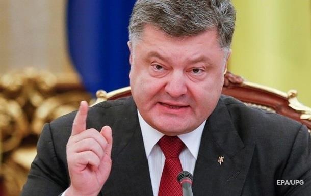 Порошенко: Парады в ЛДНР − доказательство присутствия России на Донбассе