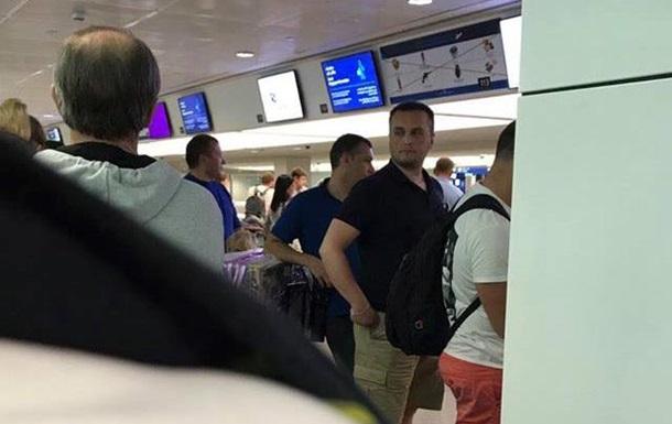 В сети опубликовали фото Холодницкого, летящего на отдых