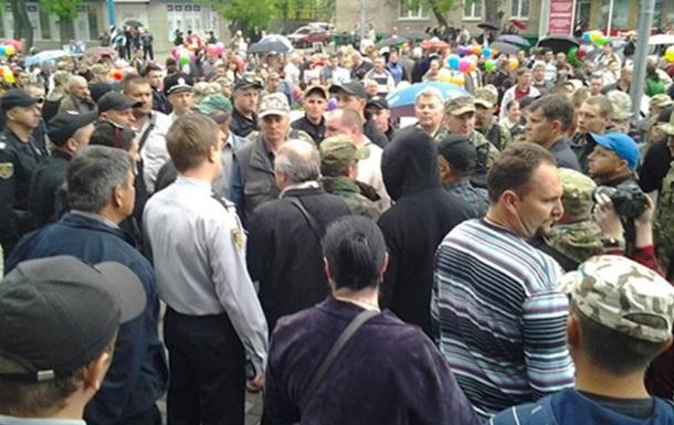 В Мелитополе отстранили главу полиции после 9 мая