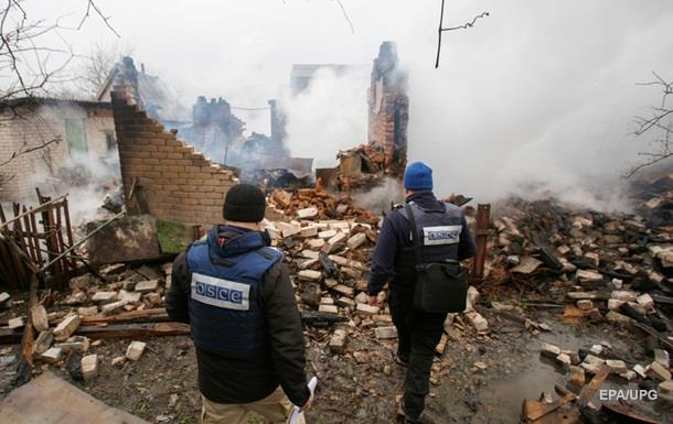 ОБСЕ: На Донбассе за неделю пострадали 20 человек