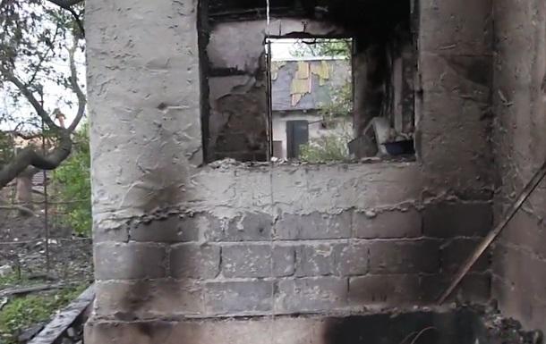 Военные показали на видео разрушения в Водяном