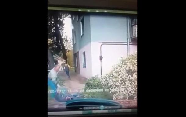 Стрельба по таксисту «охранником Яроша»: Видео