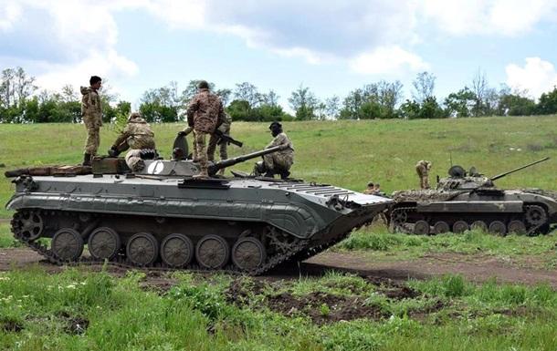 В зоне АТО ранены семь бойцов – штаб